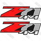 Chevrolet Silverado Z71 4x4 GM HD Chevy Decals Stickers 1500 2500 3500 2