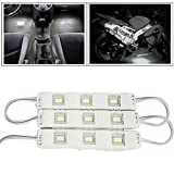 #6: Vheelocityin 9 LED Custom Cuttable Bike/ Car White Light for Interior/ Exterior