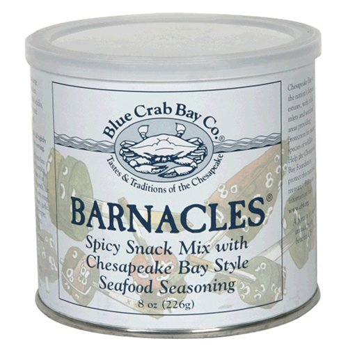 Buy Blue Crab Bay Co. Barnacles Snack Mix, 8 Ounces (Pack of 4) (Blue Crab Bay Co., Health & Personal Care, Products, Food & Snacks, Snacks Cookies & Candy, Snack Food)