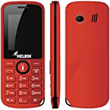 Melbon DUDE-22 Dual Sim Mobile Phone With 0.3MP Camera And 1.8-inch Screen (Red)