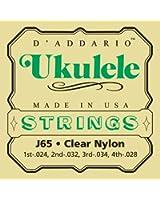 D'Addario Cordes pour ukulele D'Addario J65, Soprano