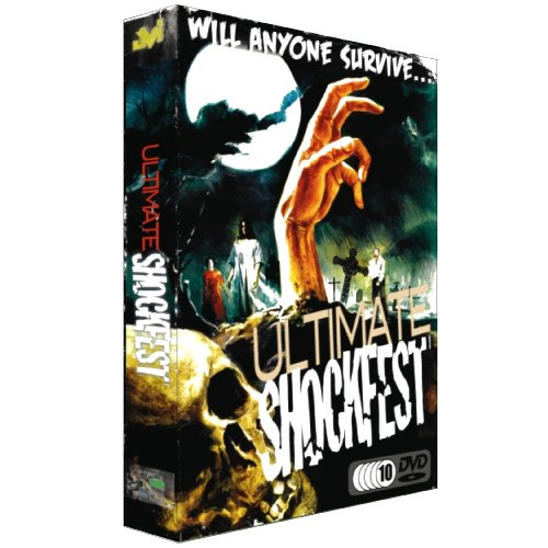 Ultimate Shockfest (Horror Express / Alien Contamination / Night Of The Living Dead / Deep Red / Oasis Of The Zombies / City Of The Dead / Messiah of Evil / Creepers / Satanic Rites Of Dracula / Dementia 13 ... ) [US Import]