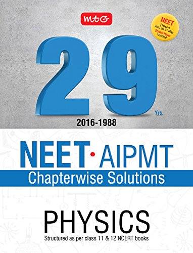 29 Years NEET-AIPMT Chapterwise Solutions - Physics