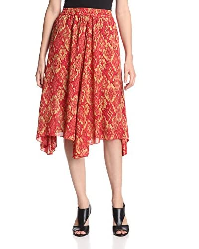 ML by Micky London Women's Midi Skirt