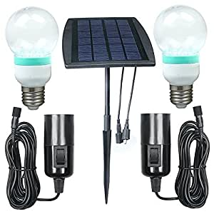 Amazon.com : BonAchat Solar Panel DIY Lighting Kit, Solar
