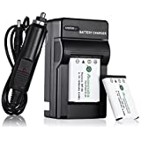 Powerextra 2 Pack Rechargerable Replacement Li-ion Battery with Charger For Fujifilm NP-45, NP-45A, NP-45B, NP-45S and Fujifilm FinePix XP20 XP22 XP30 XP50 XP60 XP70 T350 T360 T400 T500 T510 T550 T560 JX500 JX520 JX550 JX580 JX590 JX700 JX710 JZ700 Digital Camera(Free Car Charger Available)