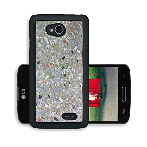 Liili Premium LG Optimus L70 Dual Aluminum Snap Case Terrazzo background image of terrazzo floor profile Photo 19148572