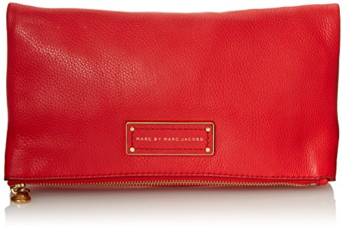 Marc by Marc Jacobs Too Hot To Handle Foldover Clutch, Cambridge Red, One Size