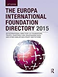 img - for The Europa International Foundation Directory 2015 book / textbook / text book
