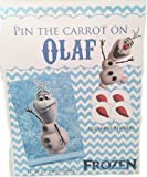 Frozen Pin the Carrot Nose on Olaf - Game for Birthday Party