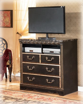 Coal Creek Media Chest by Ashley Furniture