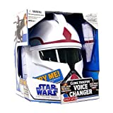 Star Wars Clone Wars Roleplay Toy Exclusive Voice Changer Clone Trooper Commander [Red Stripe] Helmet