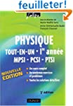 Physique tout-en-un MPSI-PCSI-PTSI 1e...
