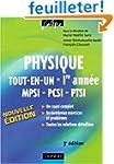 Physique tout-en-un MPSI-PCSI-PTSI 1e...