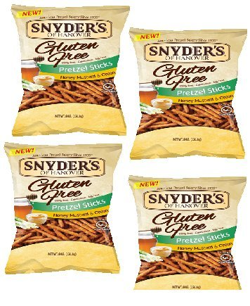 Snyder's of Hanover Gluten Free All Natural Pretzel Honey Mustard and Onion (Gluten Free Snyders compare prices)