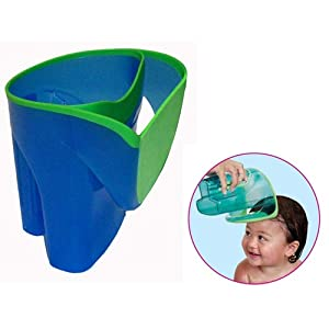 Munchkin Shampoo Rinser - Helps keep soap and water out of child's eyes with soft rim