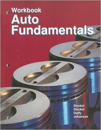 Auto Fundamentals: workbook