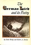 img - for The German Lied and Its Poetry book / textbook / text book