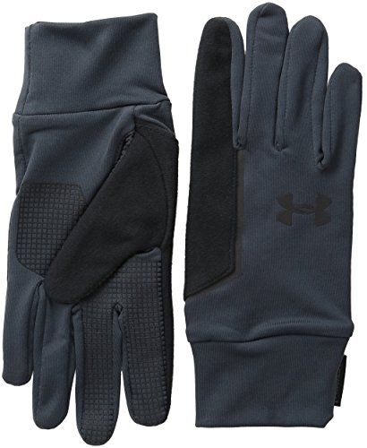 Under Armour UA no Breaks Liner Guanti da corsa, Uomo, Running Handschuhe UA No Breaks Armour Liner, Stealth Grey, M