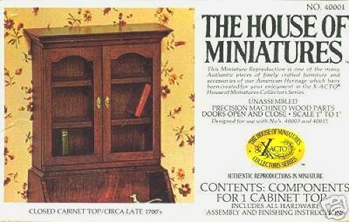 The House of Miniatures Closed Cabinet Top No. 40001 - 1