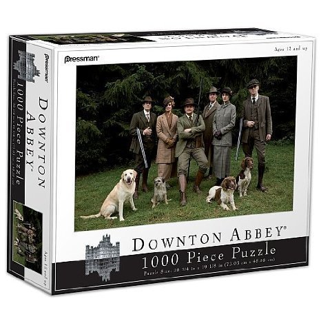downton-abbey-1000-piece-puzzle-hunting-club