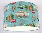 Lampshade Handmade in UK - Cath Kidston London Scene Fabric Lampshade (19