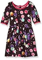 Marmellata Baby Girls' Bubbles Knit Dress, Multi, 24 Months