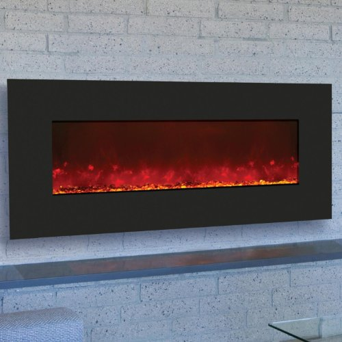 Amantii Wall Mount/Built-in 43-inch Electric Fireplace - Black Glass - Wm-bi-43 picture B00F6SFVAA.jpg