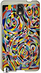 Timpax protective Armor Hard Bumper Back Case Cover. Multicolor printed on 3 Dimensional case with latest & finest graphic design art. Compatible with only Samsung Galaxy Note 3 / N9000. Design No :TDZ-21281