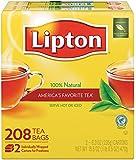 Lipton Tea Bags, 208 Count