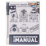 Official R2-D2 Droid Maintenance Manual with Screwdriver Pencil