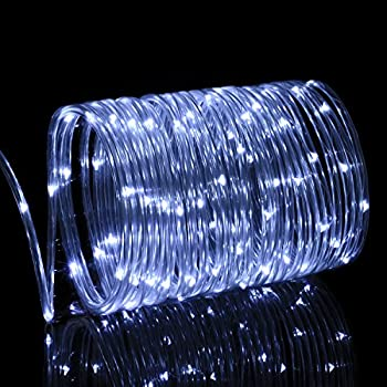 Solar Rope Lights Outdoor, Oak Leaf 41ft 100LED LED Rope Lighting Waterproof Copper Wire Rope String Light for Outdoor Indoor Home Garden Patio Party Decoration