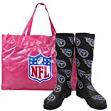 Cuce Shoes Tennessee Titans Women's Enthusiast Rain Boot 7 at Amazon.com