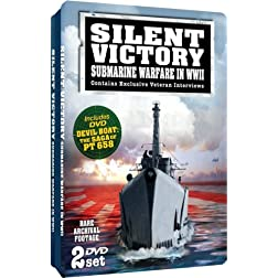Silent Victory: Submarine Warfare in WWII - Embossed Slim-Tin Packaging