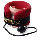 Xcellent Global Cervical Neck Traction Pain Neck Relief- Inflatable Cervical Traction Device M-SP003