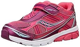 Saucony Girls Baby Ride Sneaker (Toddler/Little Kid),Pink/Purple,6 M US Toddler