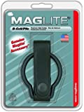 MAGLITE ASXD036 Plain Leather Belt Holder for D-Cell Flashlight, Black