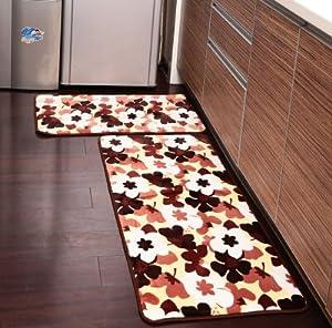 Amazon Ustide 2 Piece Sakura Kitchen Rug Set Kitchen