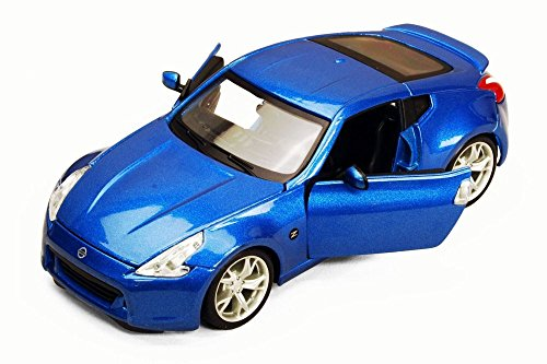 2009 Nissan 370Z, Blue - Maisto 31200 - 1/24 Scale Diecast Model Toy Car (Nissan Z Toy Car compare prices)