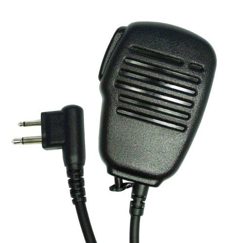 Maximal Power RM MOT HRM16 Palm Speaker Mic for Motorola Two Way Radios (Black)