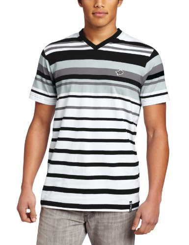Southpole Men's V-Neck Engineered Darker Top