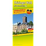 Erlebnisführer Thüringer Wald mit Rennsteig: Freizeitkarte mit Informationen zu Freizeiteinrichtungen auf der Kartenrückseite. GPS-genau. 1:160000