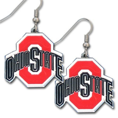 NCAA Ohio State Buckeyes Dangle Earrings
