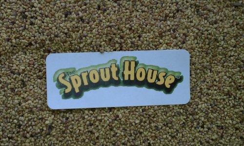 The Sprout House Dozen Organic Sprouting Seeds Sampler Small Quantities of Each Seed Alfalfa, French Lentil, Fennel, Mung, Dill, Daikon Radish, Fenugreek, Clover, Green Pea, Garbanzo, Adzuki, Broccoli