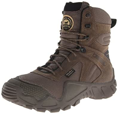 "Irish Setter Men's 2863 Vaprtrek Waterproof 8"" Boot,Stone,8 D US"