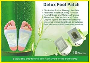LOT X 30 patchs - DETOX FOOT PATCH - ELIMINE LES TOXINES DU CORPS