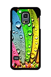 Caseque Droplets on the Petals Back Shell Case Cover For Samsung Galaxy S5 Mini