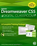 img - for Dreamweaver CS5 Digital Classroom, (Book and Video Training covers CS5 & CS5.5) book / textbook / text book