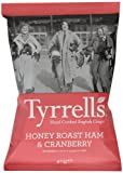 Tyrrells Honey Roast Ham and Cranberry Sauce 40 g (Pack of 6)