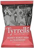Tyrrells Honey Roast Ham and Cranberry Sauce 40 g (Pack of 6)